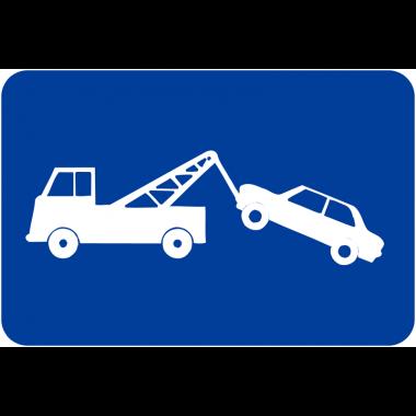 """Panneaux de signalisation de parking """"Mise en fourrière"""""""