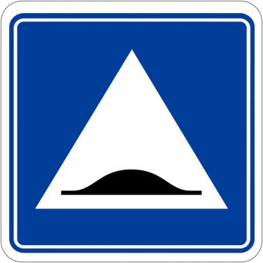 """Panneaux de signalisation parking """"Surélévation de chaussée"""""""