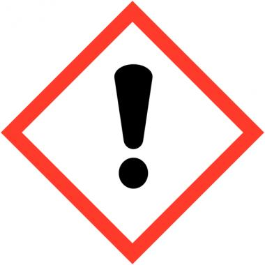 """Panneaux de produits dangereux """"Danger pour sensibilisation cutanée, inhalation, corrosion ou irritation des yeux"""""""