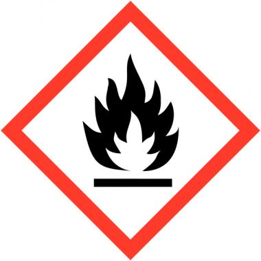"""Panneaux de produits dangereux """"Matières solides inflammables"""""""