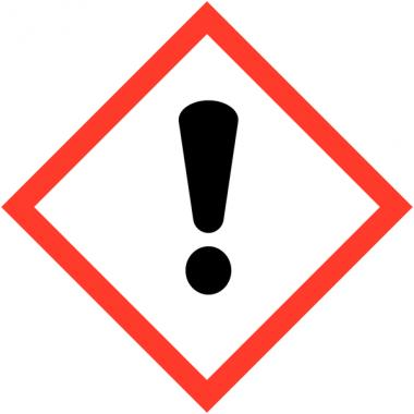 Pictogrammes CLP en papier Toxicité aigüe catégorie 4 GHS07