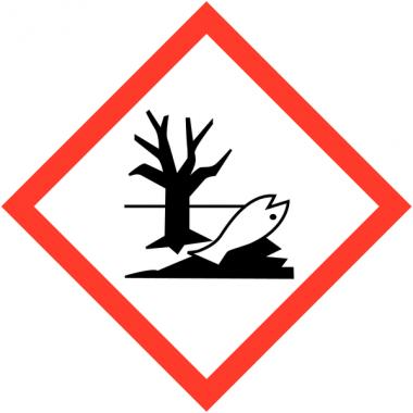 Pictogrammes CLP en papier Danger pour le milieu aquatique GHS09