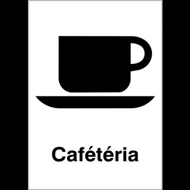 """Panneaux d'information du public """"Cafétéria"""""""