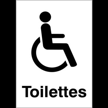 """Panneaux d'information du public """"Handicapés"""""""