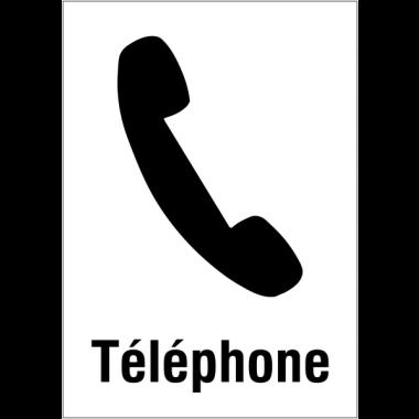 """Panneaux d'information du public """"Téléphone"""""""