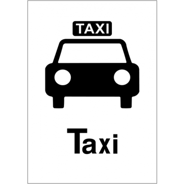 """Panneaux d'information du public """"Taxi"""""""
