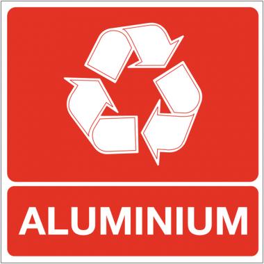 """Panneaux """"Tri sélectif des déchets - Aluminium"""""""