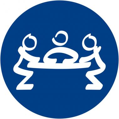 """Plaques signalétiques design """"Salle de réunion"""""""