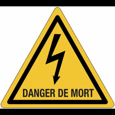 Panneaux de danger électrique - Danger de mort