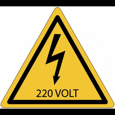Panneaux de danger électrique - 220 V