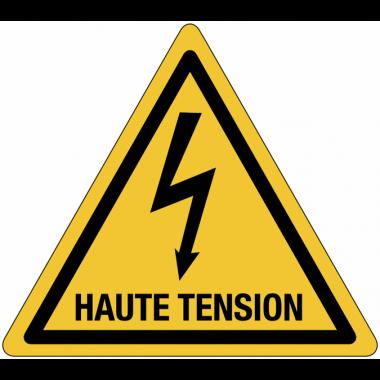 Panneaux de danger électrique - Haute tension