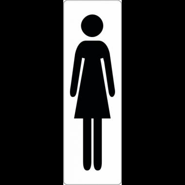 """Signalétique de porte """"Toilettes femme"""""""