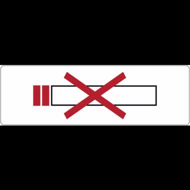 "Signalétique de porte ""Interdiction de fumer"""