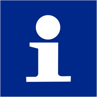 """Signalétique d'information murale ou en drapeau """"Point information"""""""