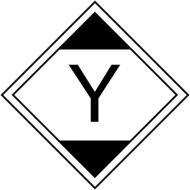 """Etiquettes de transport international """"Quantité limitée, LQY11"""" en rouleau"""