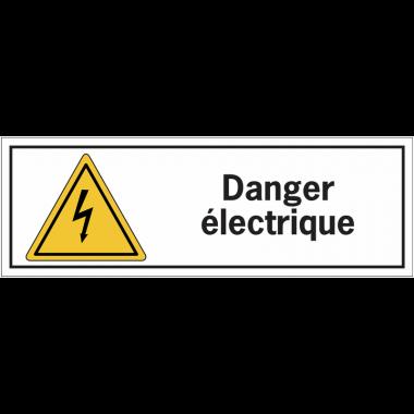 Etiquettes de sécurité - Danger électrique