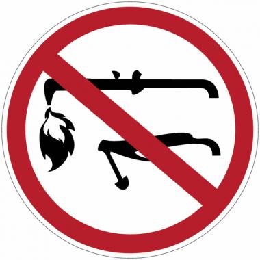 """Panneaux d'interdiction """"Interdiction de souder"""""""