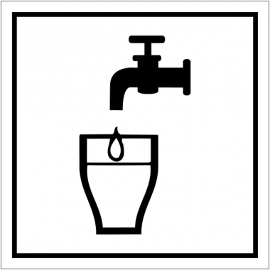 "Pictogrammes d'information standards ""Eau potable"""