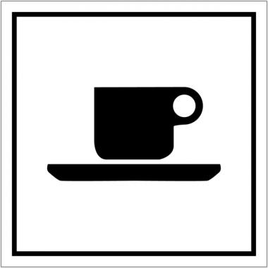 """Pictogrammes d'information standards """"Cafétéria"""""""