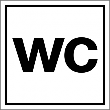 "Pictogrammes d'information standards ""Toilettes"""