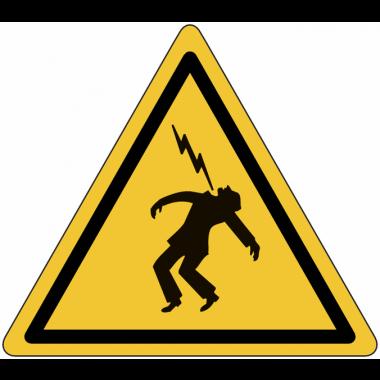"""Panneaux de danger """"Haute tension"""""""
