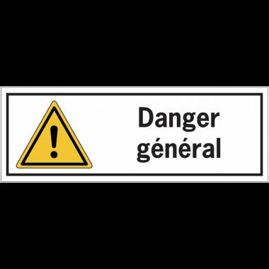 Panneaux de danger rectangulaires - Danger général