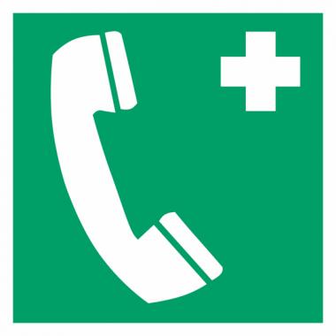 """Panneaux d'évacuation et de secours """"Téléphone d'urgence"""""""