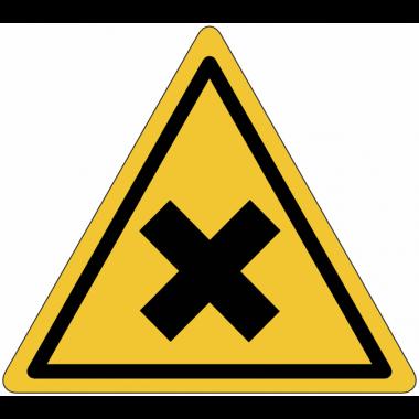 """Mini-pictogrammes de danger """"Matières nocives ou irritantes"""" en rouleau"""
