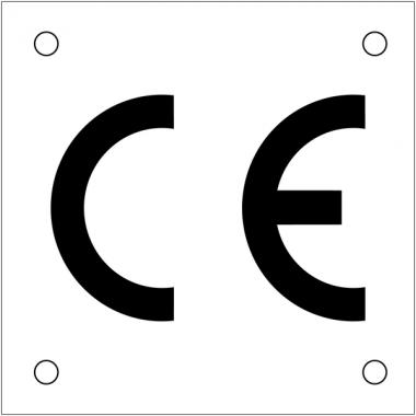 """Plaques de signalisation pour machines """"CE"""""""
