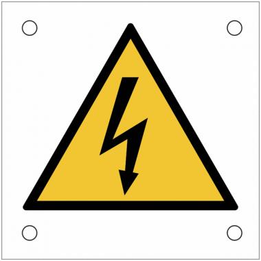 """Plaques de signalisation pour machines """"Danger électricité"""""""