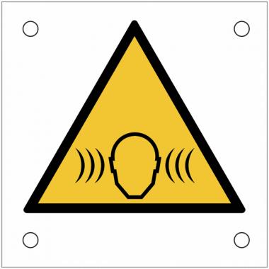 """Plaques de signalisation pour machines """"Traumatisme par le bruit"""""""