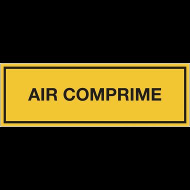 Panneaux de signalisation des produits dangereux - Air comprimé