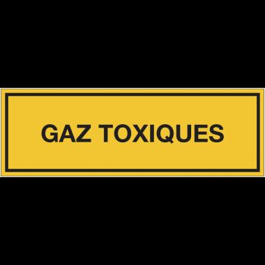 Panneaux de signalisation des produits dangereux - Gaz toxiques