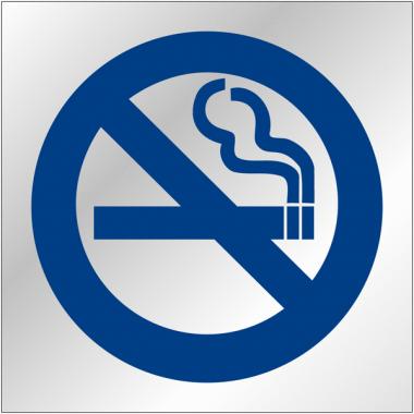 """Plaques signalétiques en plexiglas """"Interdiction de fumer"""""""