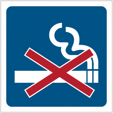 """Pictogrammes de signalisation """"Interdiction de fumer"""""""