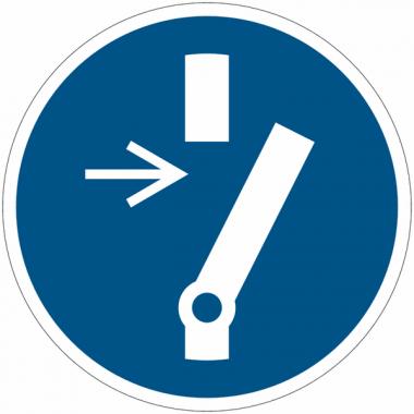 """Panneaux ISO 7010 d'obligation """"Débrancher avant d'effectuer une activité de maintenance ou une réparation"""" - M021"""