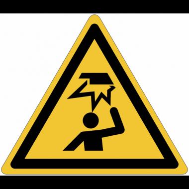 Pictogramme ISO 7010 en rouleau Danger Obstacle en hauteur - W020