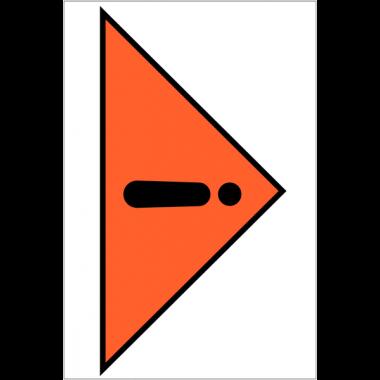 Etiquettes d'expédition en PVC - Manipuler avec précaution
