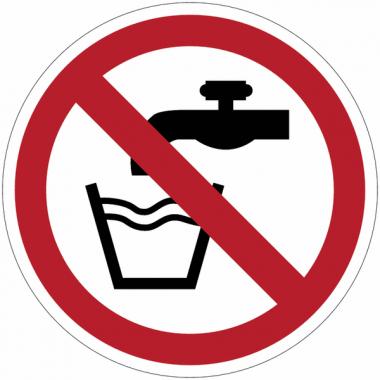 Panneaux et autocollants NF EN ISO 7010 Eau non potable - P005