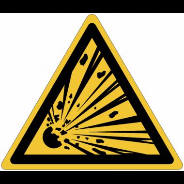 Pictogramme ISO 7010 en rouleau Danger Matières explosives - W002
