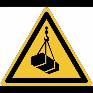 Pictogramme ISO 7010 en rouleau Danger Charges suspendues - W015