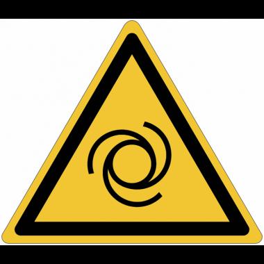 Pictogramme ISO 7010 en rouleau Danger Démarrage automatique - W018