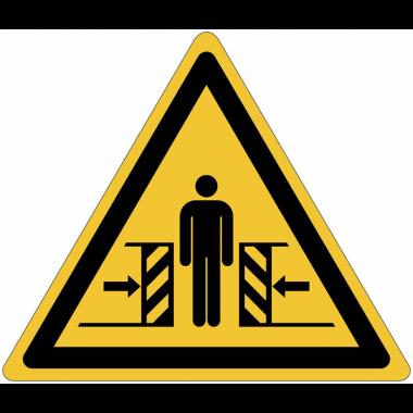 Panneaux et autocollants NF EN ISO 7010 Ecrasement - W019