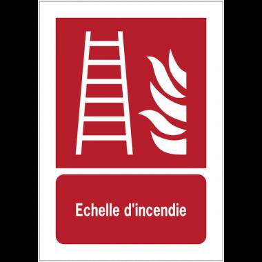 Panneaux NF EN ISO 7010 A3/A4/A5 Echelle d'incendie - F003