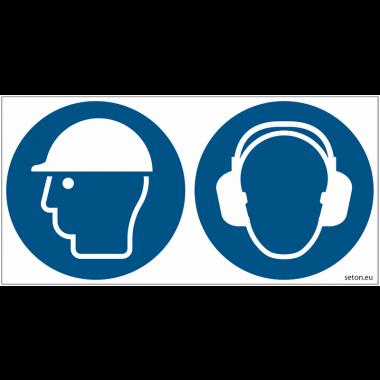Pictogrammes ISO 7010 Casque & Serre tête antibruit