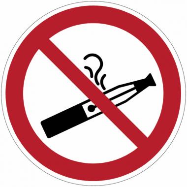 Panneaux et autocollants «  interdiction de vapoter »