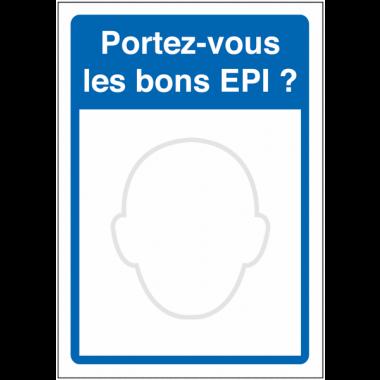 Miroir pour inciter le port des EPI