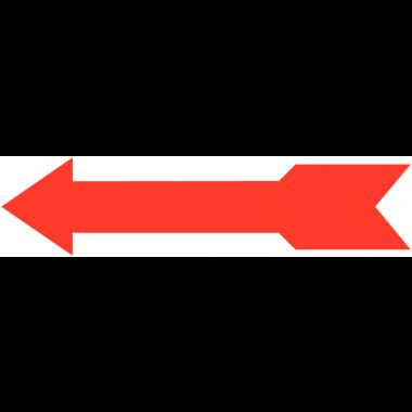 Flèches pour sens d'ouverture/fermeture transfert à sec