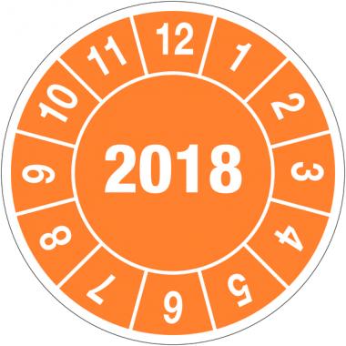 Pastilles calendrier rondes année complète en polyester laminé en rouleau
