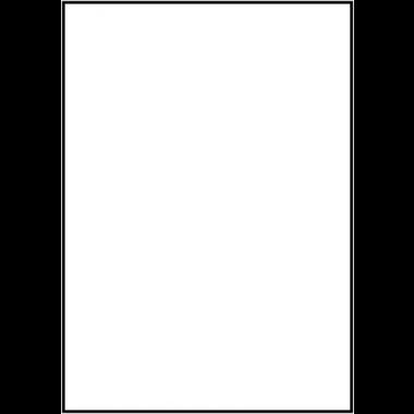 Etiquettes en papier imprimables spéciales surfaces rugueuses